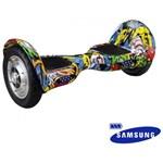 """Ficha técnica e caractérísticas do produto Hoverboard Scooter Smart Balance 10"""" Urban Bateria Samsung. - Mymax"""