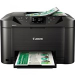 Ficha técnica e caractérísticas do produto Impressora Multifuncional Canon Maxify MB5110 Jato de Tinta Colorida Wireless 110V