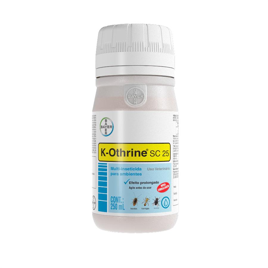 Ficha técnica e caractérísticas do produto Inseticida K-Othrine SC 25 - 250ML