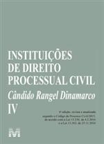 Ficha técnica e caractérísticas do produto Instituições de Direito Processual Civil Vol. IV (2019)