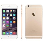 "IPhone 6 Plus 64GB Dourado Tela Retina de 5.5"" Camera 8MP Touch ID - Apple"