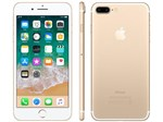 "IPhone 7 Plus Apple 32GB Dourado 4G 5,5"" Retina - Câm. 12MP + Selfie 7MP IOS 10 Proc. Chip A11"