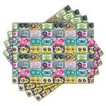 Ficha técnica e caractérísticas do produto Jogo Americano - Fitas Cassete com 4 Peças - 250Jo