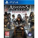 Ficha técnica e caractérísticas do produto Jogo Assassins Creed Syndicate - PS4 - Sony PS4