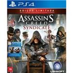 Ficha técnica e caractérísticas do produto Jogo Assassins Creed: Syndicate - PS4 - Sony PS4