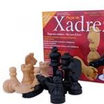 Ficha técnica e caractérísticas do produto Jogo de Peças de Xadrez em Madeira Xalingo