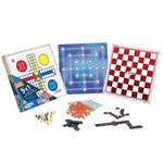 Ficha técnica e caractérísticas do produto Jogo de Tabuleiro 5 em 1 Novos Jogos Classicos Xalingo 65598