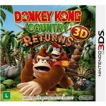 Jogo Donkey Kong Country Return 3ds