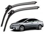 Ficha técnica e caractérísticas do produto Jogo Palheta Limpador Parabrisa New Civic 2007 a 2011