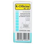 Ficha técnica e caractérísticas do produto K-Othrine Cs 25 - 30 Ml - Bayer