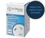 Ficha técnica e caractérísticas do produto K-Othrine® WG 250 Inseticida 5g