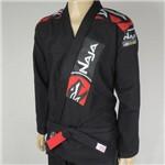 Kimono Jiu Jitsu - Extreme - Trancado - Naja - Preto