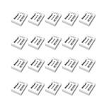 Ficha técnica e caractérísticas do produto Kit 20 Borrachas Brancas Nº20 Escolar Mercur