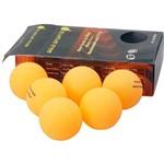Kit 6 Bolas P Tênis de Mesa 5 Stars - Gold Sports