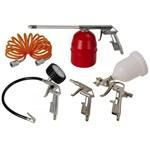 Ficha técnica e caractérísticas do produto Kit Acessórios para Compressor 5 Peças - Schulz
