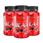 Ficha técnica e caractérísticas do produto Kit Bcaa 3X (90 Cápsulas) Integralmédica