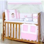 Ficha técnica e caractérísticas do produto Kit Berço Boneca Vivi Rosa - Precious Baby