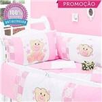 Ficha técnica e caractérísticas do produto Kit Berço Charminho 09 Peças - Rosa - Ursinhos