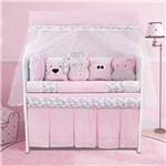 Ficha técnica e caractérísticas do produto Kit Berço Coleguinhas Rosa - Precious Baby