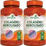 Ficha técnica e caractérísticas do produto Kit 2 Colágeno Hidrolisado com Vitamina C 120 Cápsulas Katigua