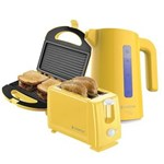 Ficha técnica e caractérísticas do produto Kit Colors Amarelo Cadence 127V