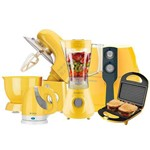 Ficha técnica e caractérísticas do produto Kit Colors Orbital Amarelo Cadence 220v