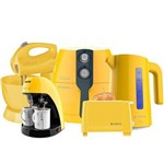 Ficha técnica e caractérísticas do produto Kit Colors Perfect Fryer amarelo Cadence 127v
