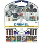 Ficha técnica e caractérísticas do produto Kit de 160 Acessórios Multiuso - Dremel