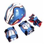 Ficha técnica e caractérísticas do produto Kit de Proteção Infantil Multilaser Atrio Masculino - Es104