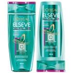 Ficha técnica e caractérísticas do produto Kit Elseve Hydra Detox 48h Antioleosidade Shampoo 400ml + Condicionador 400ml