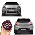 Kit Emblemas Fiat Bravo Dianteiro Traseiro Adesivo Resinado
