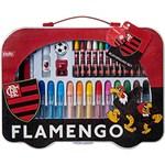 Kit Escolar Tris Playground Set Flamengo 30 Peças