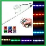 Kit Fita Led Colorida Full Rgb Mod. 5050: 3 Rls (15 Metros) com Todos os Acessórios para Instalação