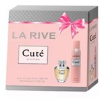 Ficha técnica e caractérísticas do produto Kit La Rive Cute Eau de - Parfum 100ml + Desodorante 150ml