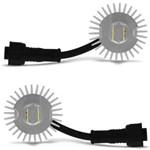 Ficha técnica e caractérísticas do produto Kit Lâmpada Super LED Headlight H3 6000K 12V 32W 4400LM Efeito Xenon