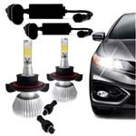 Ficha técnica e caractérísticas do produto Kit Lâmpada Super Led Headlight H13 6000K 12V 24V Efeito Xenon