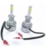 Ficha técnica e caractérísticas do produto Kit Lâmpada Super Led Headlight H1 8000K 12V35W Efeito Xênon