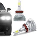 Ficha técnica e caractérísticas do produto Kit Lâmpada Super Led Headlight H11 6000K 12V 24V 32W 2200LM Efeito Xenon