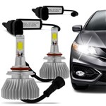 Ficha técnica e caractérísticas do produto Kit Lâmpada Super Led Headlight H11 6000K 12V e 24V Efeito Xenon