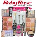 Kit Maquiagem Completa Ruby Rose + Necessaire D M70