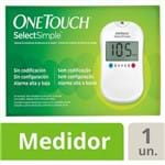 Kit Medidor de Glicose OneTouch Select Simple