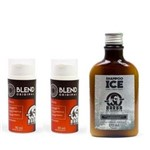 Kit - 2 Meses Crescimento da Barba - Shampoo + Blend - Barba de Respeito