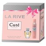 Ficha técnica e caractérísticas do produto Kit Perfume Feminino Cuté Eau de Toilette 100ml + 1 Desodorante 150ml