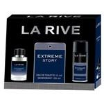 Ficha técnica e caractérísticas do produto Kit Perfume Masculino 1 Extreme Eau de Toilette 75ml + 1 Desodorante 150ml