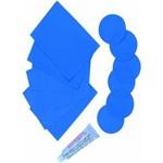 Ficha técnica e caractérísticas do produto Kit Reparo P de Piscina Azul - Azul