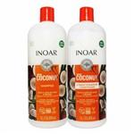 Ficha técnica e caractérísticas do produto Kit Shampoo e Condicionador #Bombar Coconut 1L - Inoar
