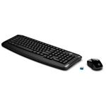 Ficha técnica e caractérísticas do produto Kit Teclado e Mouse Hp 300