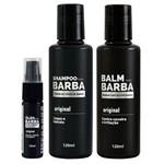 Kit Usebarba Shampoo Óleo e Balm para Barba