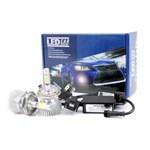 Ficha técnica e caractérísticas do produto Kit Xenon LED Celta 2000 01 02 03 04 05 06 Farol Alto e Baixo H4 2200 Lumis 12 e 24v