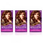Ficha técnica e caractérísticas do produto Koleston Tinta 67 Chocolate (Kit C/03)